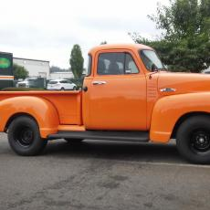 55 orange pickup side